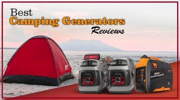 Best Camping Generators RV Quietest Portable Features