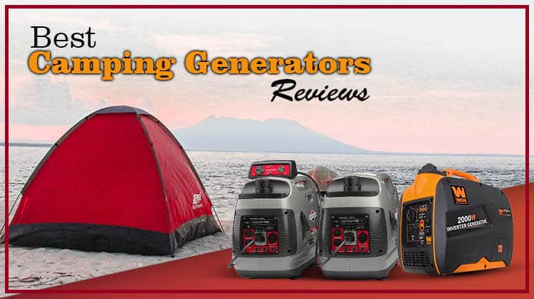 Best Camping Generators RV Quietest Portable Features