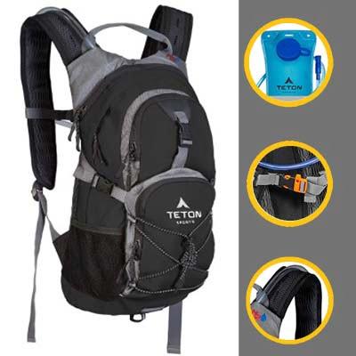 TETON Sports Oasis  Skiing Backpack, Free Hydration Bladder