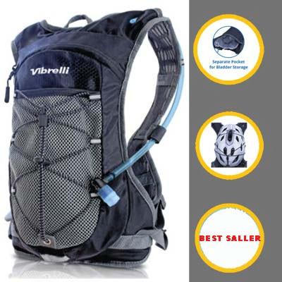 Viberlli Hydration Pack, Snow, Ski Backpack
