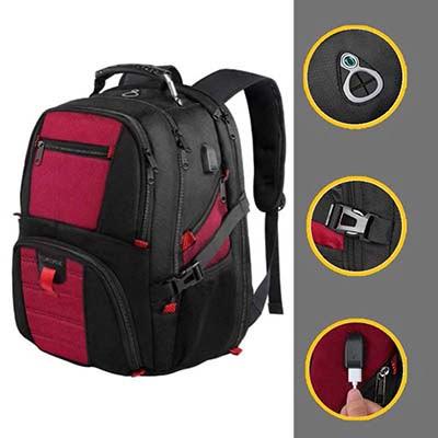 YOREPEK With USB Charging Port Ski Backpack