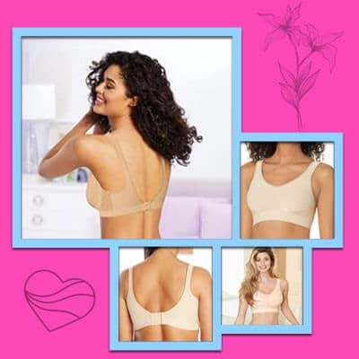 Bali comfort revolution shaping wire-free bras for small breasts