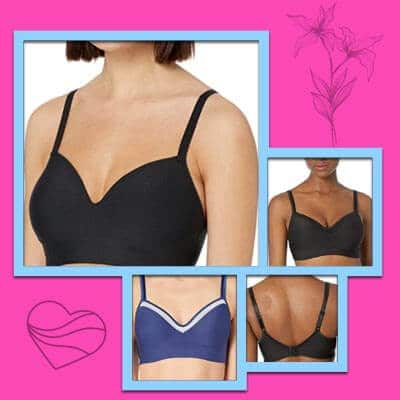 Hance comfort evolution wire-free bras for small breasts
