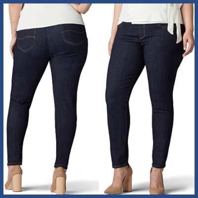 Lee Sculpting Slim Jeans For Plus Size An Apple Shape