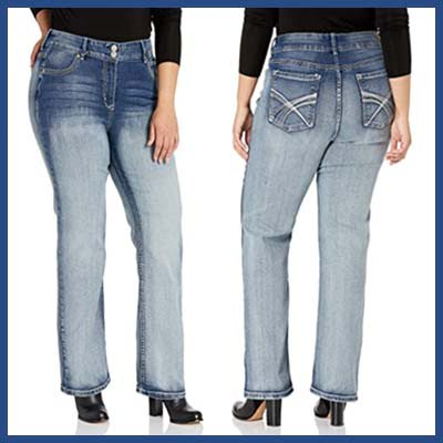 Wallflower Luscious Curvy Bootcut Jeans