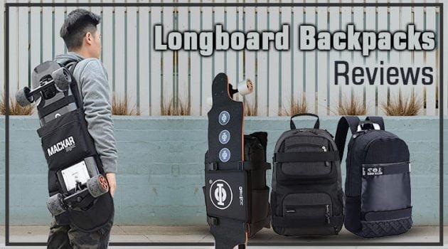 best longboard backpack