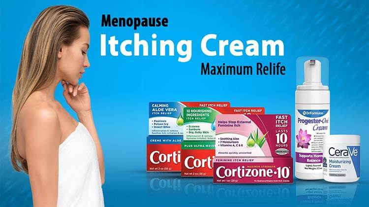 Menopause Itching Cream Maximum Relife