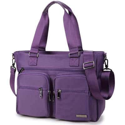 Crest Design Water Repellent Nylon Shoulder Bags for Medical, Nursing